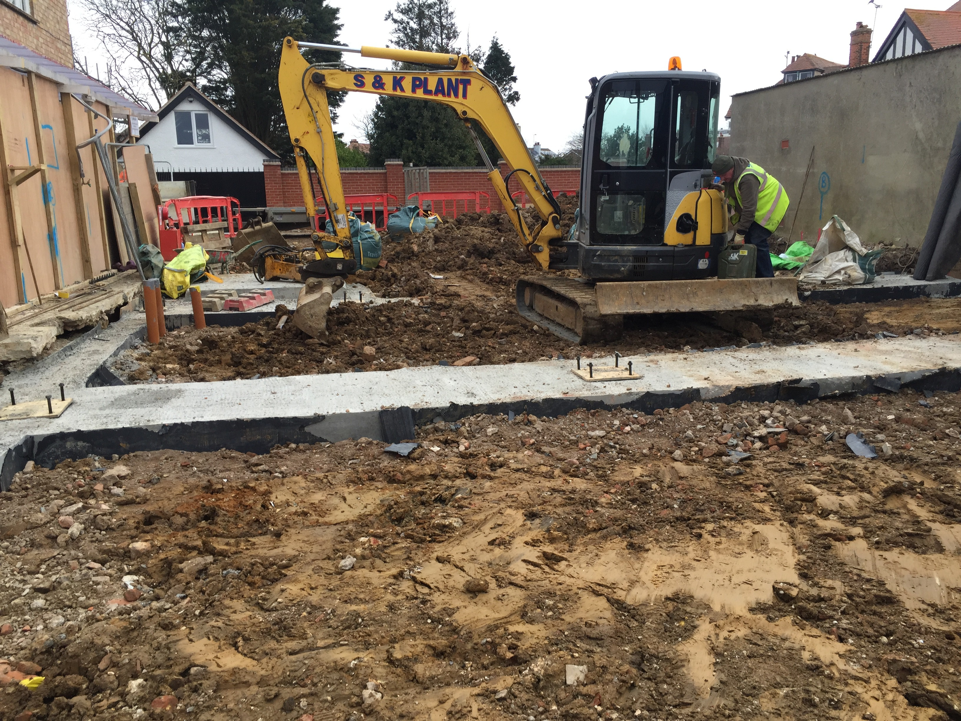 Frinton On Sea – Phelan Construction  – Jan 2015